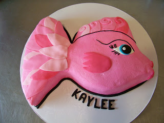 A slice of heaven custom cakes and online cake for Fish shaped cake
