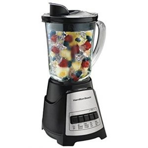 Power Elite Multi-Function Blender with Glass Jar and Chopper